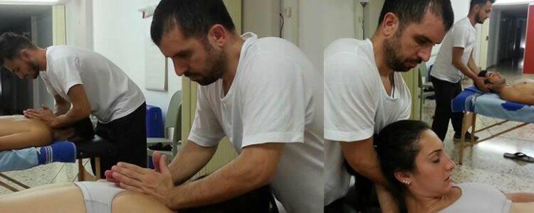 """Massaggiatori : Dolori al collo, testa e schiena, """"Guarda l'Orizzonte"""""""